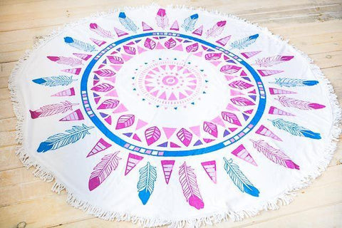 Beach Ready Roundie Towel