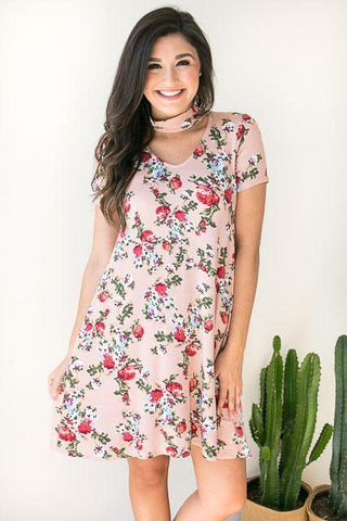 Sucker for Floral Dress with Pockets