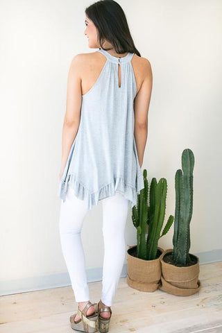 Swing to You Grey Tunic