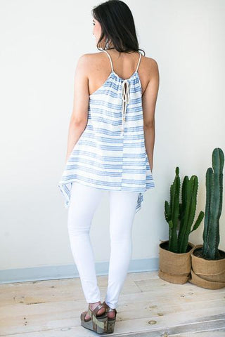 Sailor Song Rope Neck Tunic