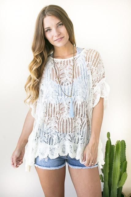 Summer Days Lace Top