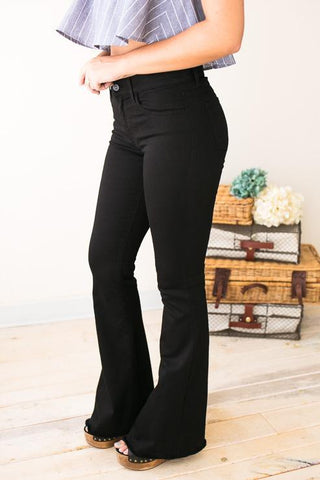 Constant Style Black Flare Jeans