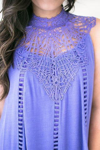 My Angel Lavender Lace Dress