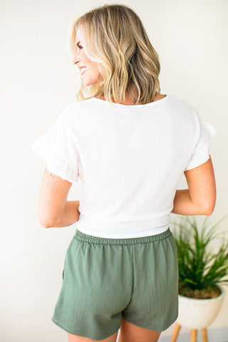 Love to Be Basic Pocket Tee - Blush
