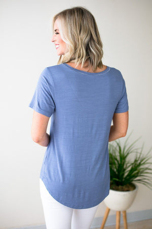 Short Sleeve Front Pocket Tee