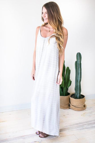 Dresses Loving You Tie Dye Maxi Dress - Sand - Lotus Boutique