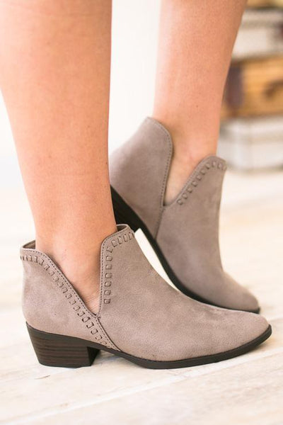 Shoes Nerys Cut Out Bootie - Lotus Boutique