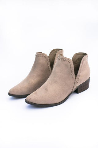 Nerys Cut Out Bootie