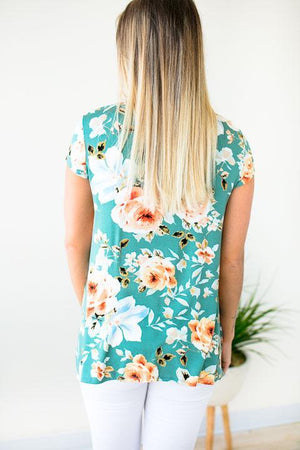 Basic Floral Top