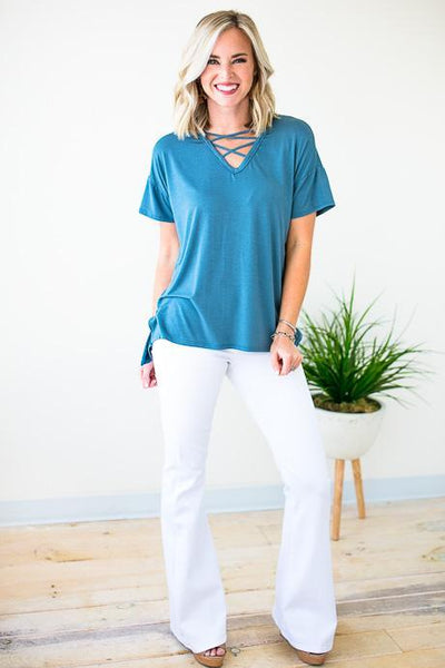 Basic Blue Top