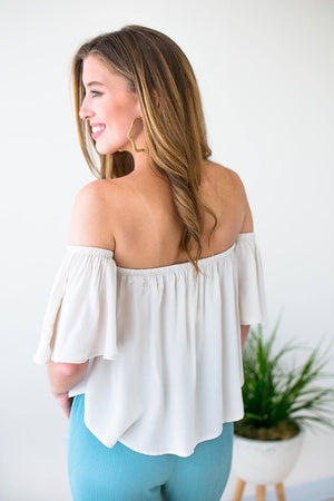 Off Shoulder Short Top