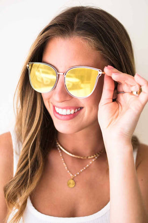Yellow Lens Sunnies