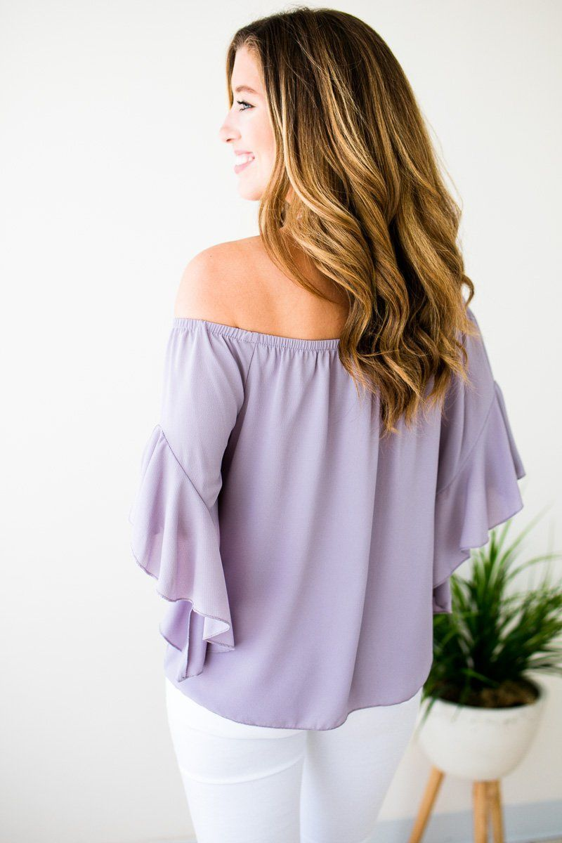Dove Off Shoulder Top