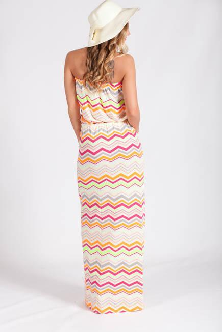 Dresses Bright and Breezy Maxi Dress - Lotus Boutique
