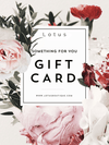 Women's Clothing Gift Card