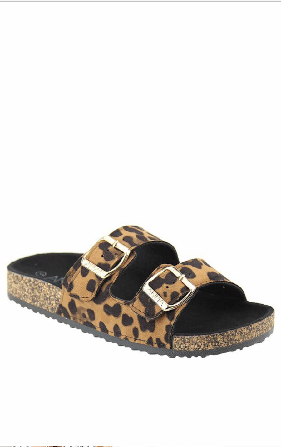 Leopard Print Casual Slip On Shoes