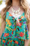 Top School's Out Hawaiian Printed Matching Set Top - Lotus Boutique