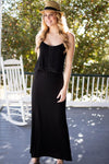 Summer is Calling Black Maxi Dress-Dresses-Lotus Boutique-Lotus Boutique