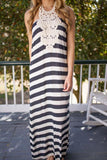 Nautical by Nature Striped Maxi Dress