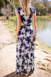 Salty Breeze and Swaying Palm Trees Maxi Dress-Dresses-Lotus Boutique-Lotus Boutique