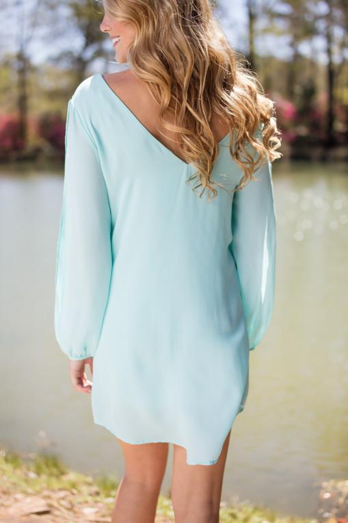 Dresses Mint to Tell You This Is The Hottest Shift Dress - Lotus Boutique