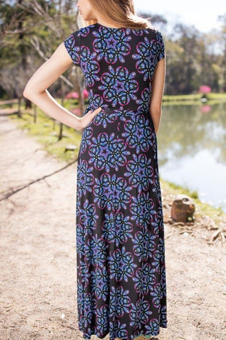 Floral Pleasantry Printed Maxi Dress