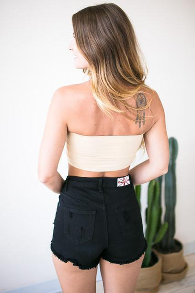 Accessories - Essential Padded Bandeau In Nude