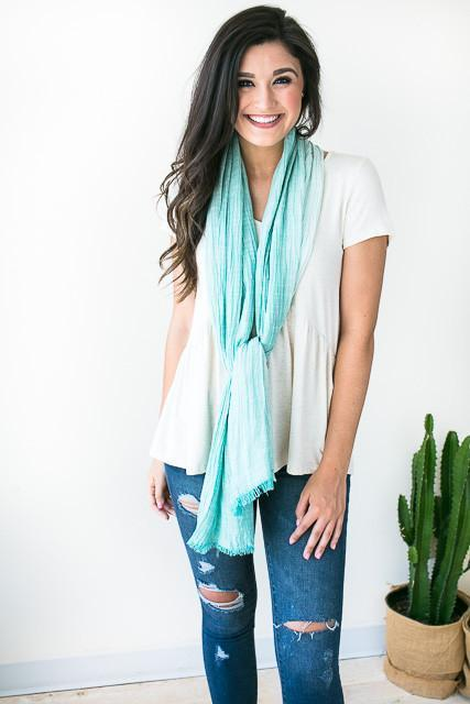 Accessories Spring Time Light Weight Scarf - Lotus Boutique