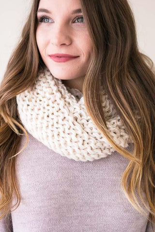 To Infinity And Beyond Weave Knit Scarf