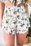 Bottoms Into the Wild Floral Matching Set - Shorts - Lotus Boutique