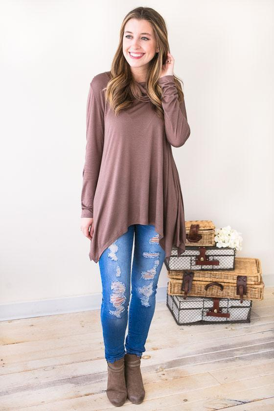 Bottoms - Kaci Distressed Skinny Jeans