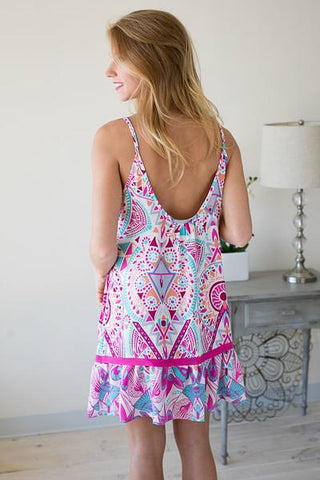 Easy Breezy Print Dress
