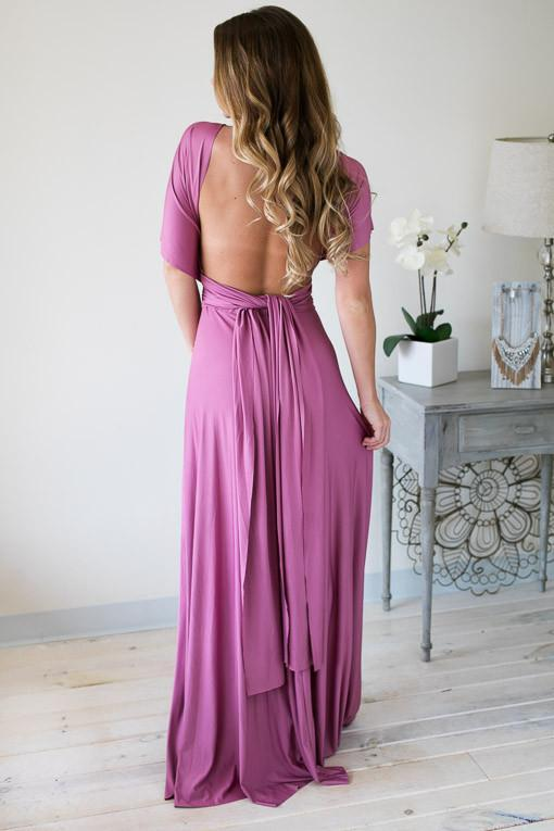 Dresses Part of the Bridal Party Rose Maxi Dress - Lotus Boutique
