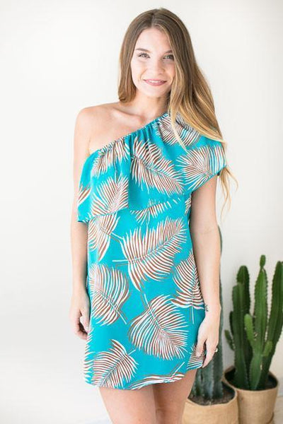 Dresses - Island In The Sun One Shoulder Dress