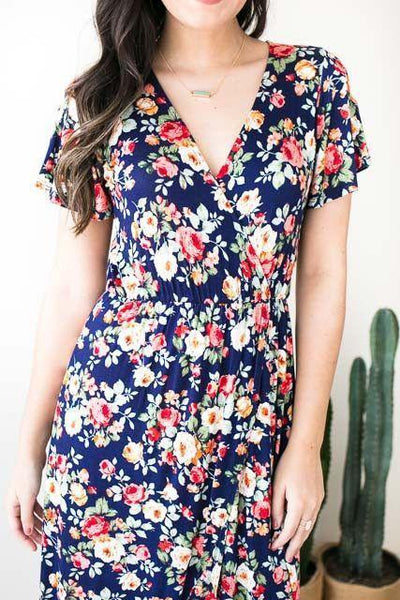 Dresses - My Girl High Low Floral Dress