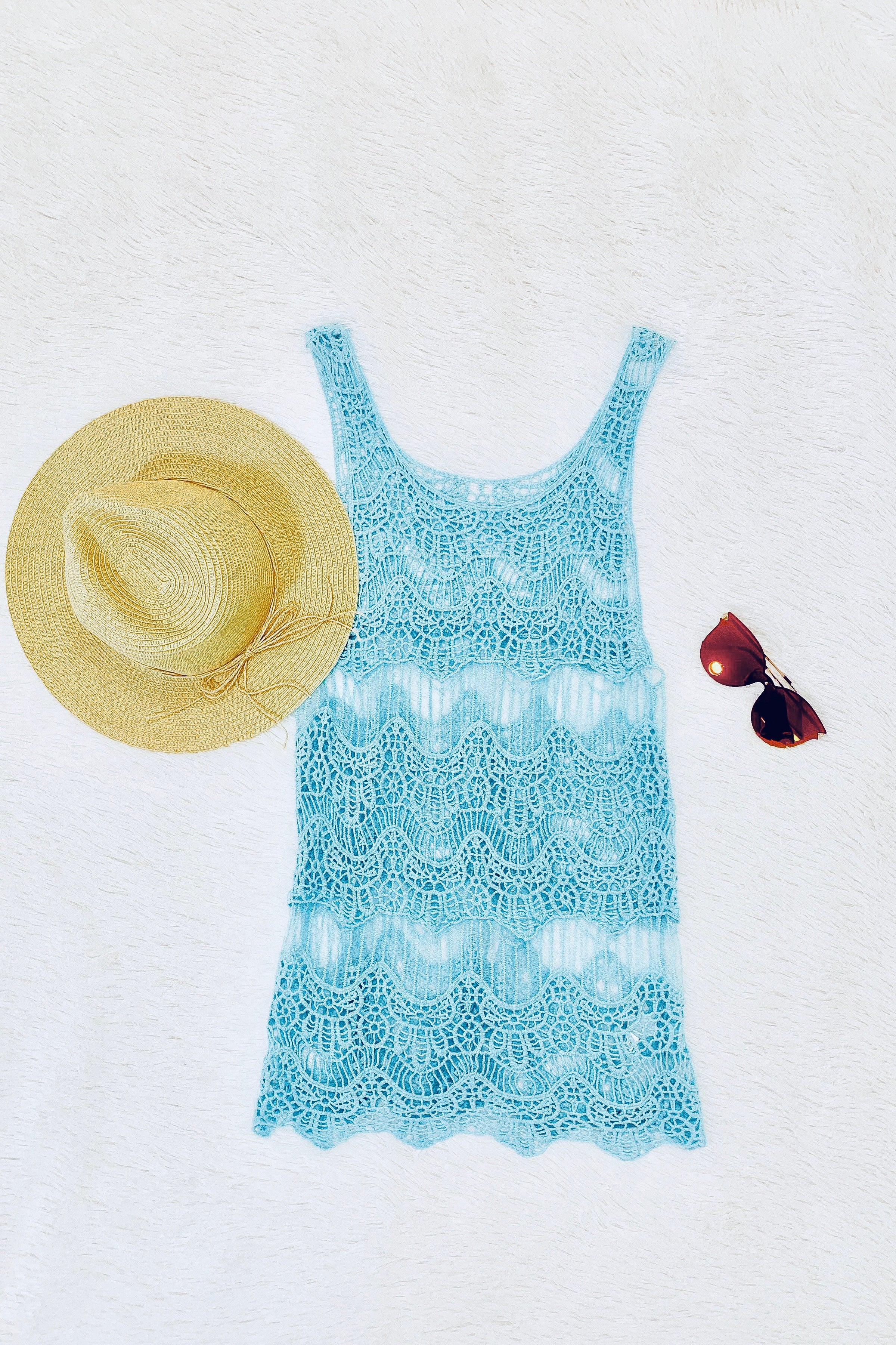 Beach Cover Up Set - One Size