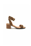 Loving The Leopard Ankle Strap Sandal