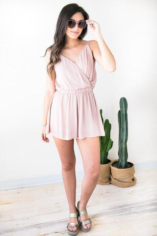 Clear Beginning Blush Romper