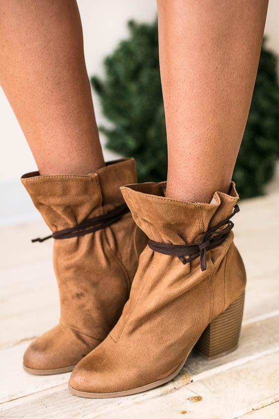 Shoes - Around The Bend Wrap Around Bootie