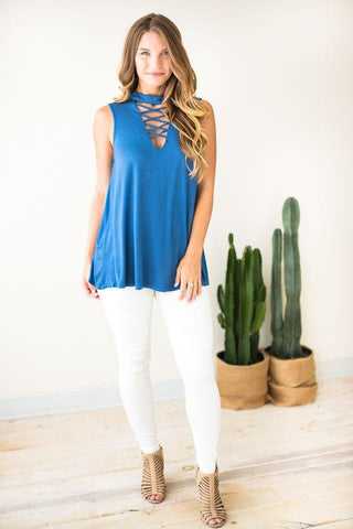 It's Ok To Be Picky Sleeveless Tunic