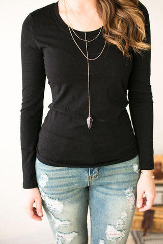 Layers Of Me Scoop Neck Layering Top