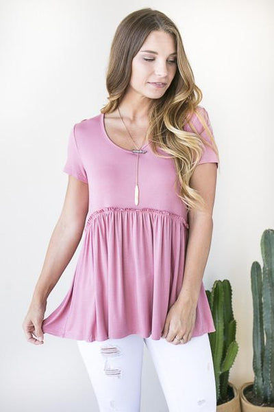 Tops - Lost In Love Baby Doll Top