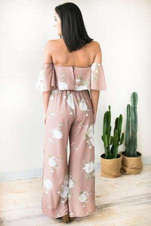 Tops - Picture Perfect Floral Matching Set - PANTS