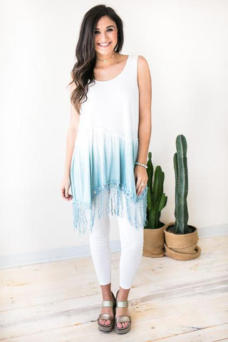 Summer Winds Tassel Tunic