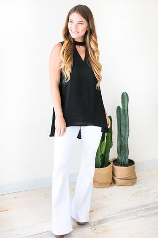 Worth the Wait Choker Neck Tunic