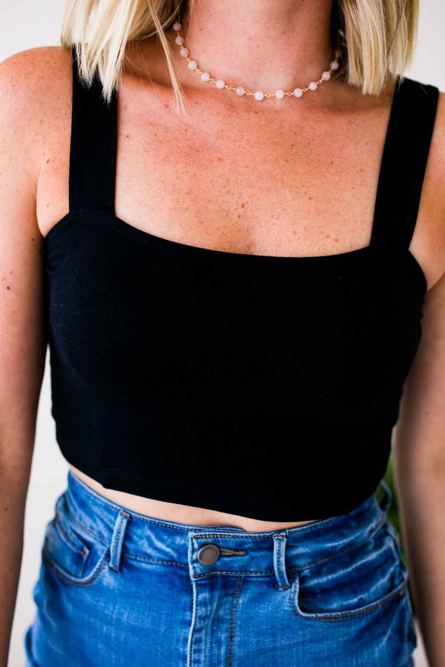 Black Bra Top