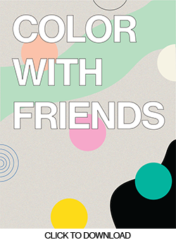 Color with Friends Booklet 2