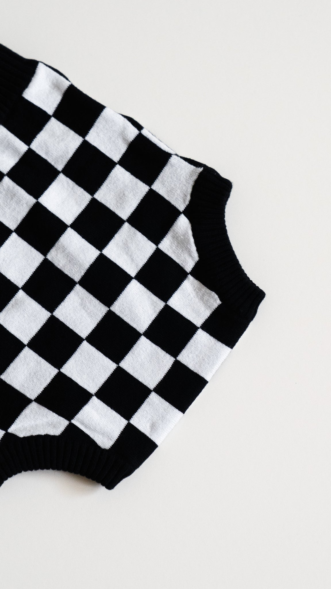 knit bloomer / checkers