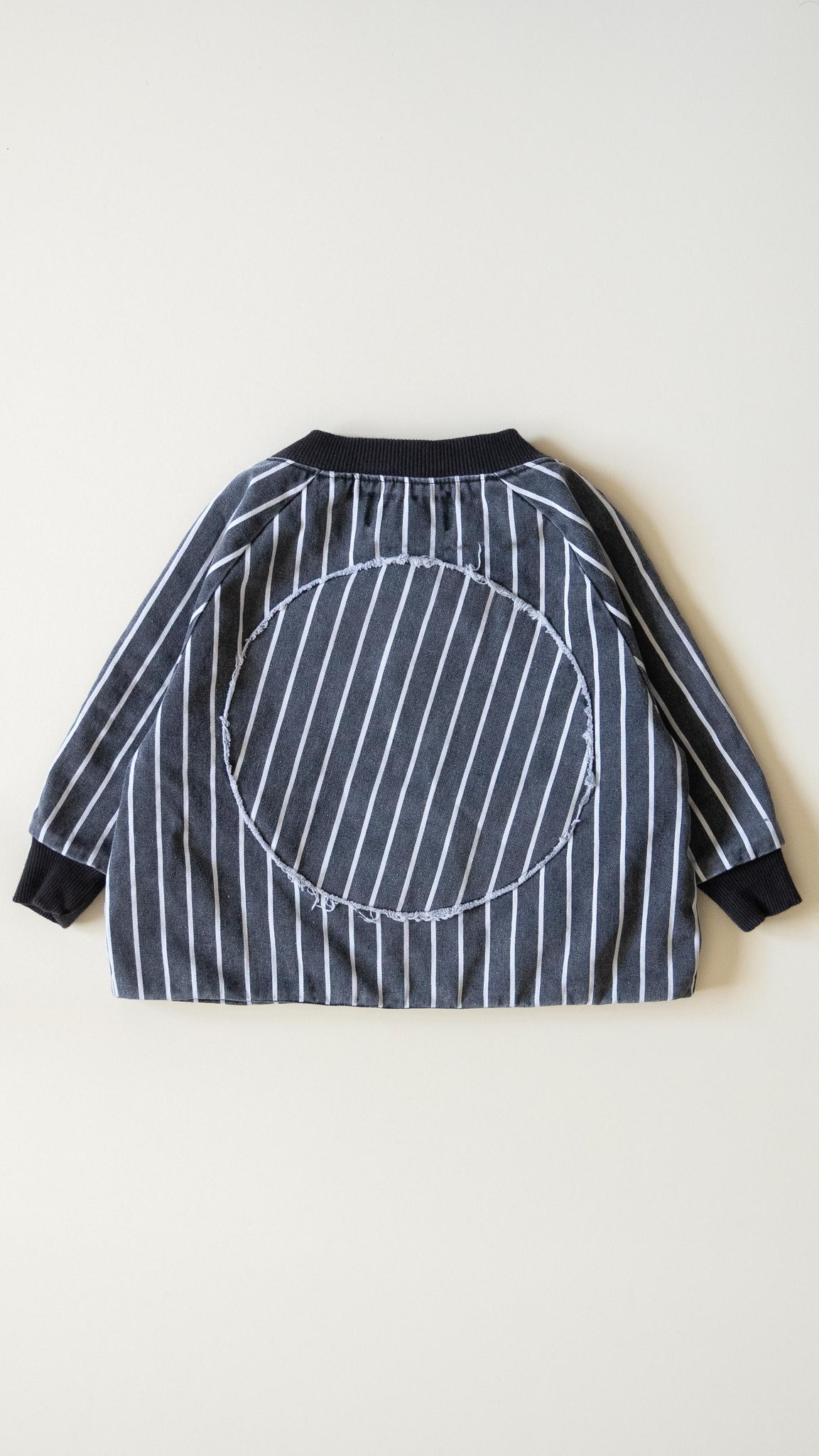 KIDS 'frankie' varsity jacket / vintage stripes