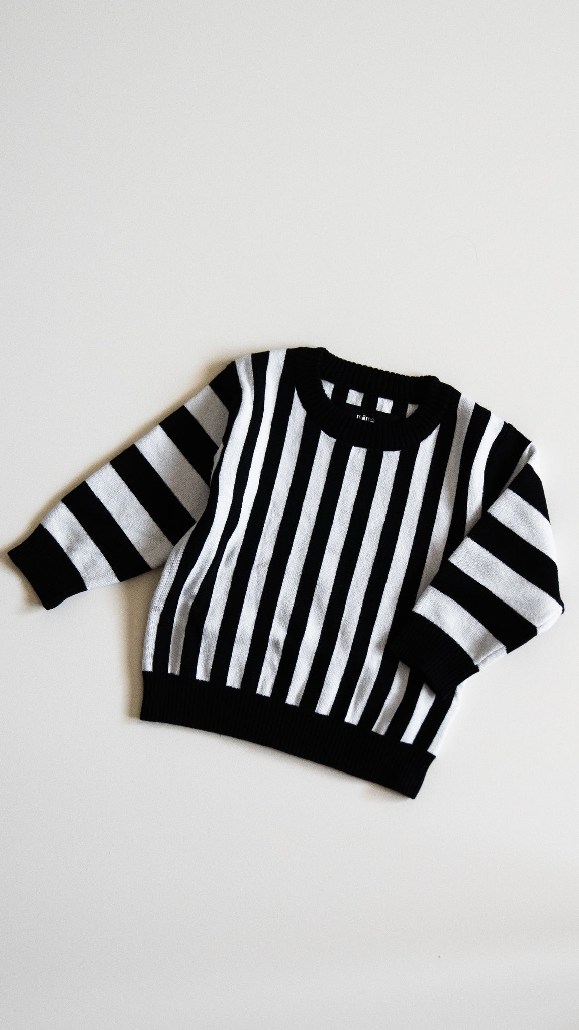 BABY knit sweater / stripes